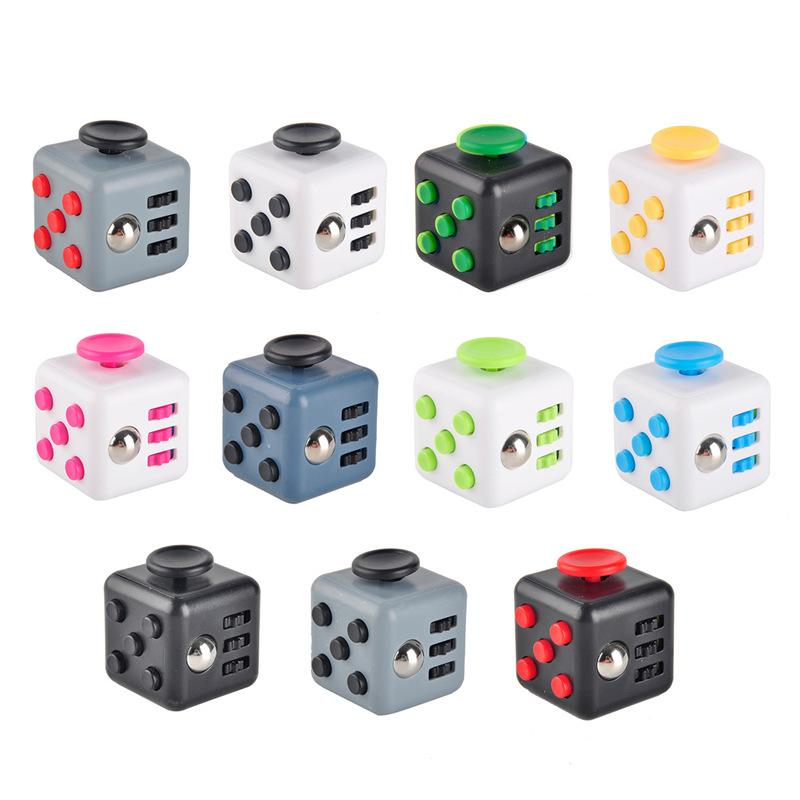 Hot promotional gift Stress Release Magic 3.3cm ABS Toys fidget cube