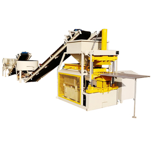 HBY2-10 hydraulic full automatic tijolos ecologicos clay brick block moulding machine hot in Afirc