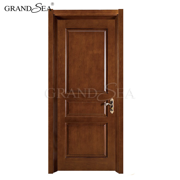 Solid core two way swing replace sliding hinged patio wooden door with sidelights