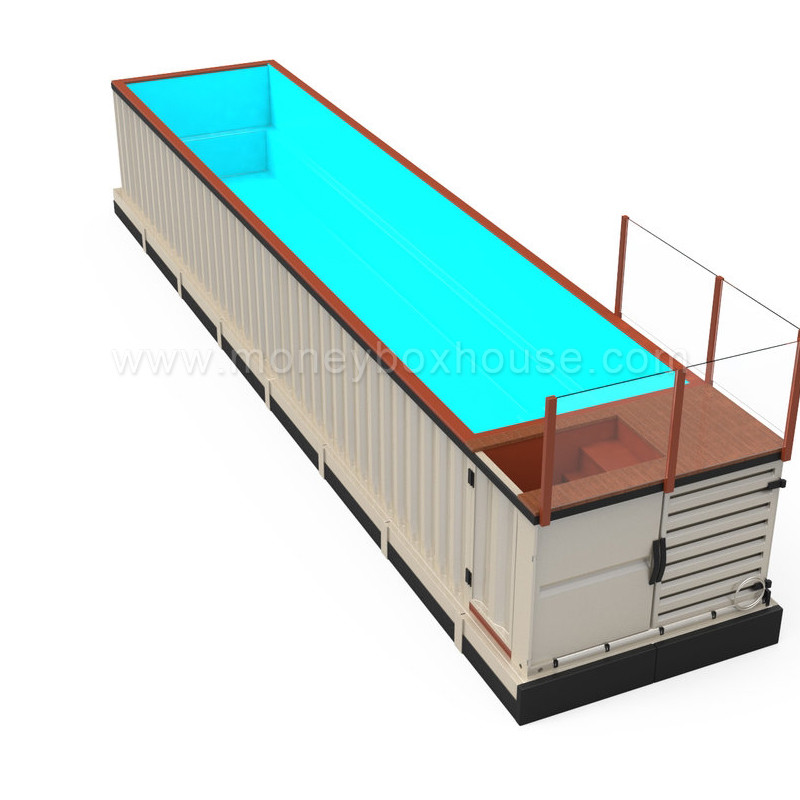 mobile container swimming pool design fiberglass shipping container with uv anti buy polyester. Black Bedroom Furniture Sets. Home Design Ideas