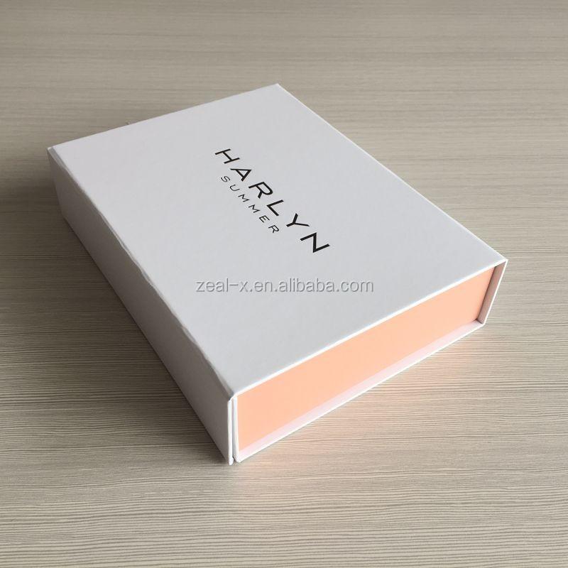 Shenzhen Zeal X Packing White Box Black Logo Paper Box
