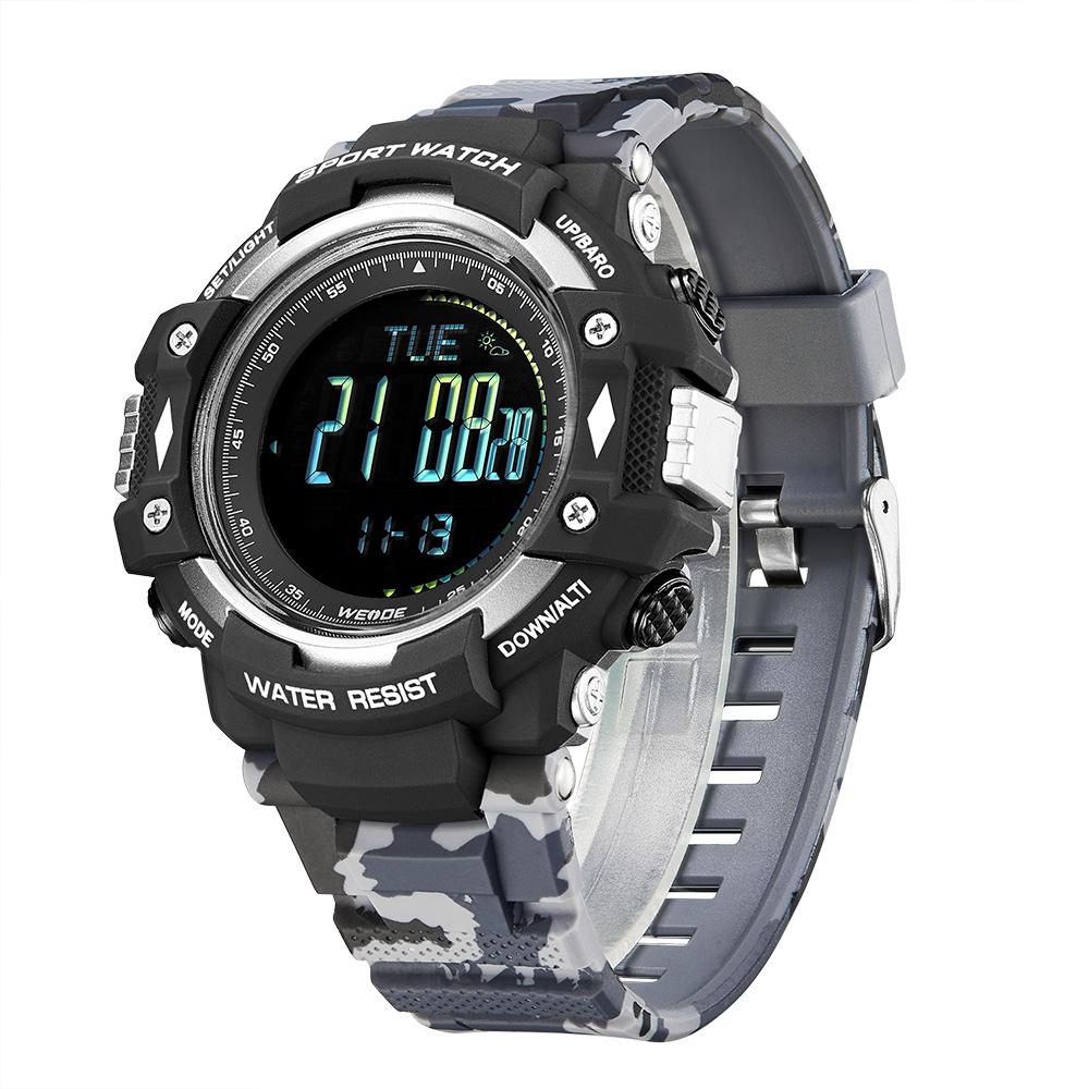 Weide Wrist Watch Digital Relojes Hombre Smart Sports Watch Men Fashion Electronic Military Compass Watches