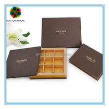 Professional luxury chocolate boxes packaging supplier in guangzhou