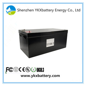 12v Nominal Voltage 200Ah Prismatic SLA Replacement LiFePo4 Lithium iron Phosphate Battery Pack