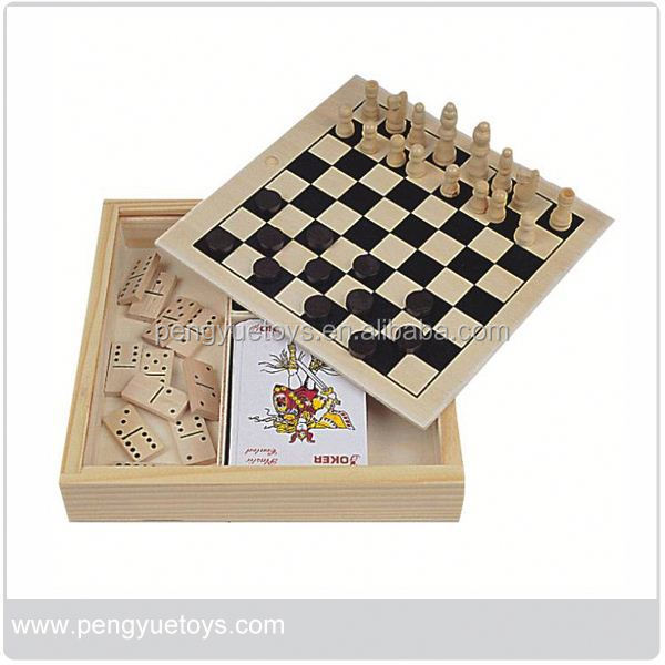 Folding Chess Game Set , Magnetic 8 in 1 Game , 6 in 1 Domino Game Set