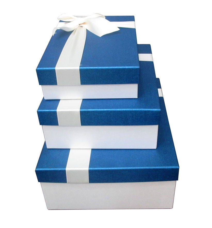 3pcs gift box set with bow tie