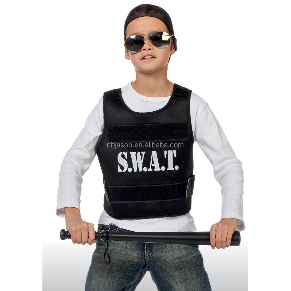 Party City Classic Police Officer Costume Kids