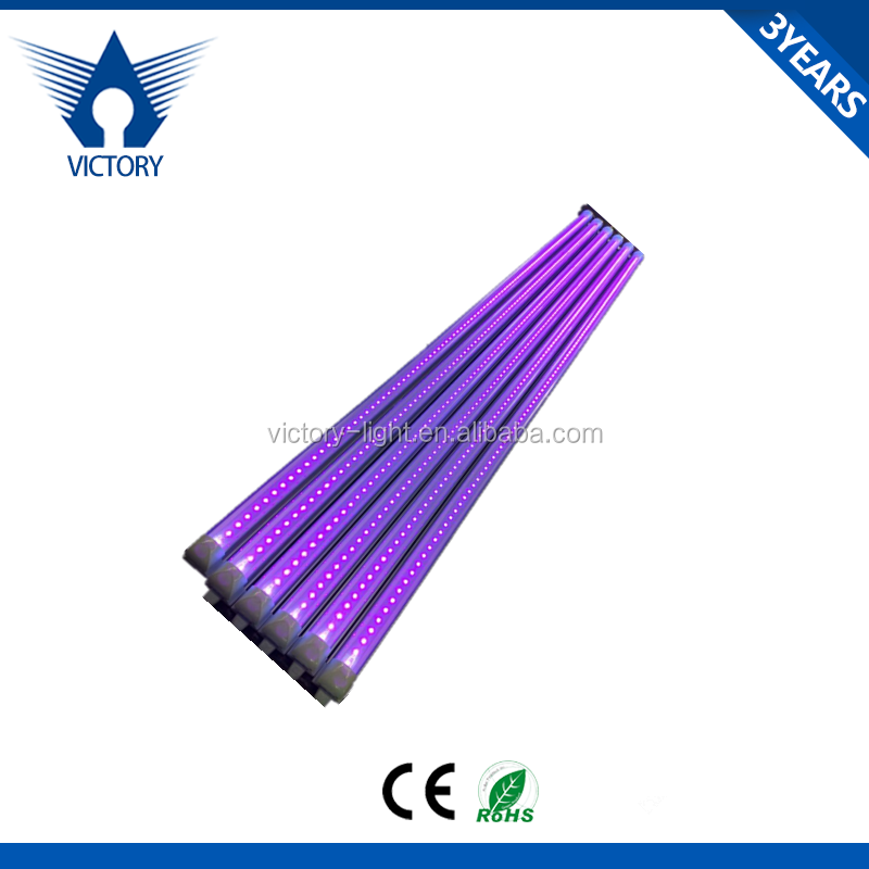 1.2m UV tube T8 integrated LED UV tube light 365nm 365-395nm