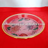 "High quality 8"" Round plastic Fruit plate"
