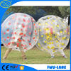 Colorful hooks size 1.25m/1.55m/1.8m human inflatable bumper bubble ball for kids and adult play in outdoor