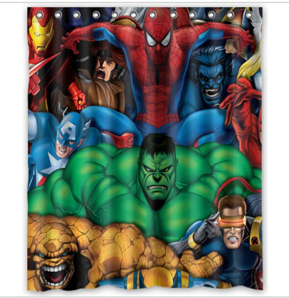 Marvel Comics Hero Spider Man Hulk Home Decor Modern