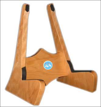 Classic Wooden Single Guitar Stand High Quality Oak