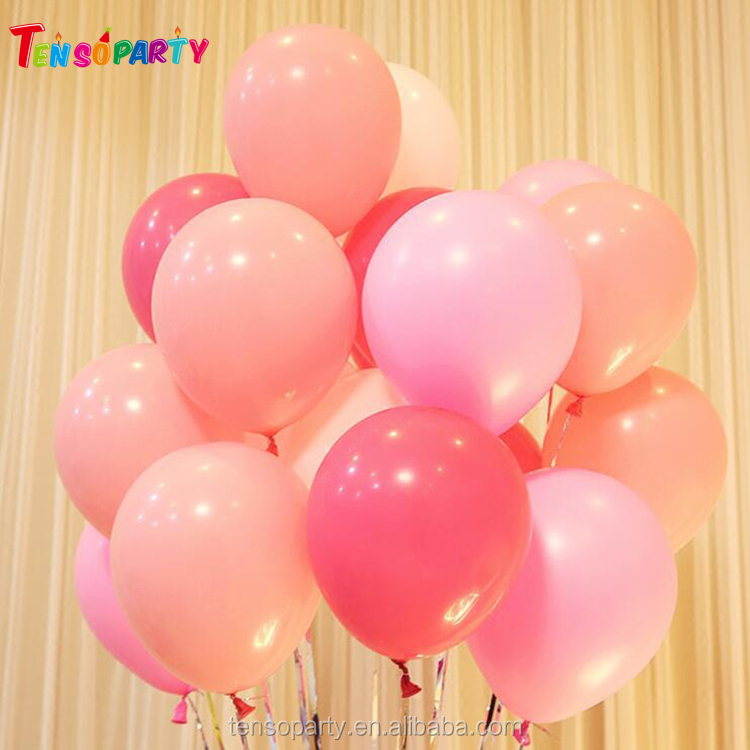 Wholesale custom heart latex free letter number balloons for wedding birthday party supplies
