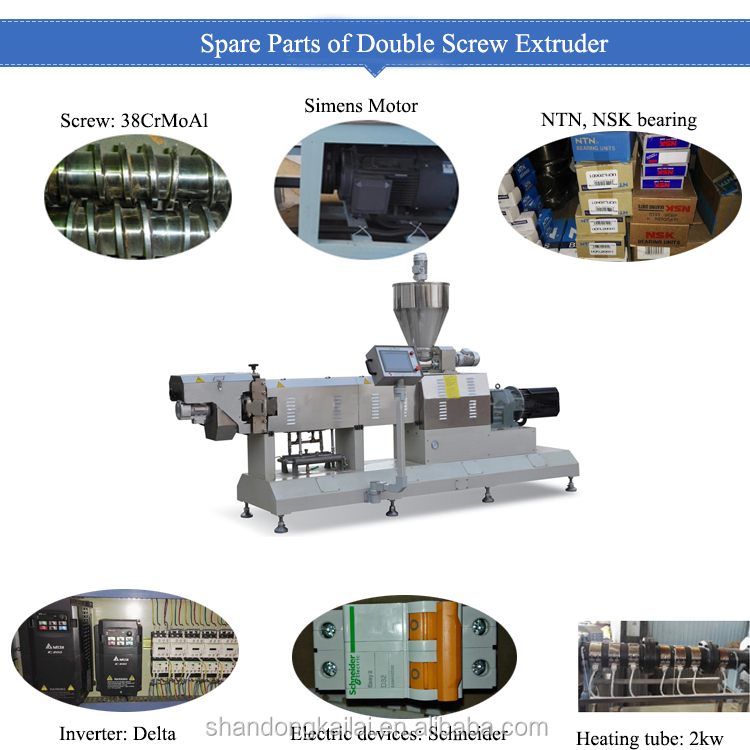 Hot Sale Single Twin Screw Extruder Puffed Rice Corn Pop Snack Making Machine
