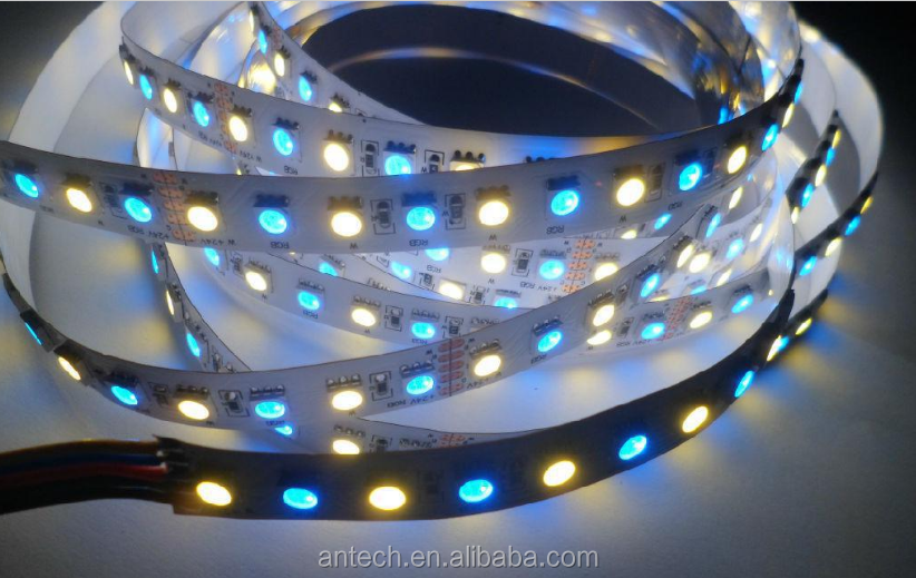 shenzhen led maker 2017 Factory hot sell led strip 5050 rgbw ip65 5m led Flxible Strip 60led 12v RGB+w LED strip 24vled stripe