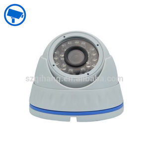 hot selling 24 ir led fixed lens dome cctv camera housing