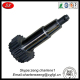 custom gear motor wheel shaft from hardware products manufacturer with high quality