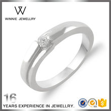 Factory sale women elegant fashion middle stone ring sterling 925 silver ring RC1172301869