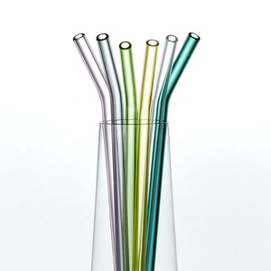 Color Glass Straw, Color Glass Straw Suppliers and