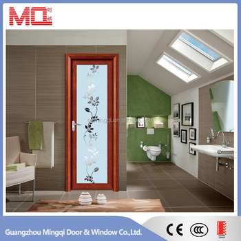 Aluminum door, aluminium bathroom doors with glass