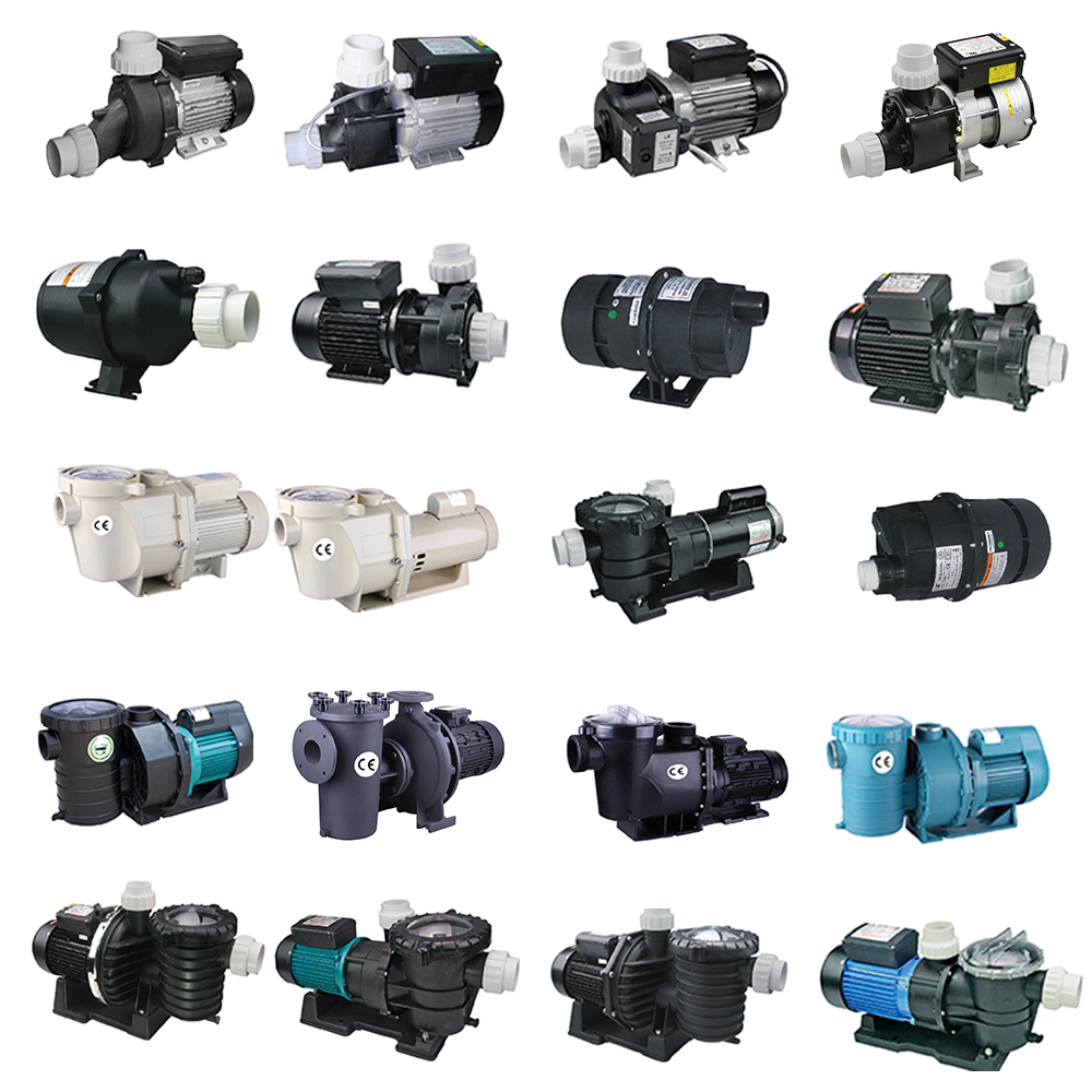 High quality a big flow rate 2hp run quietly swimming pool pump