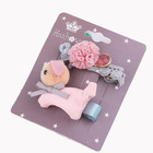 Kids new hair clip accessories for girls dogs design Headwear Handicraft Children