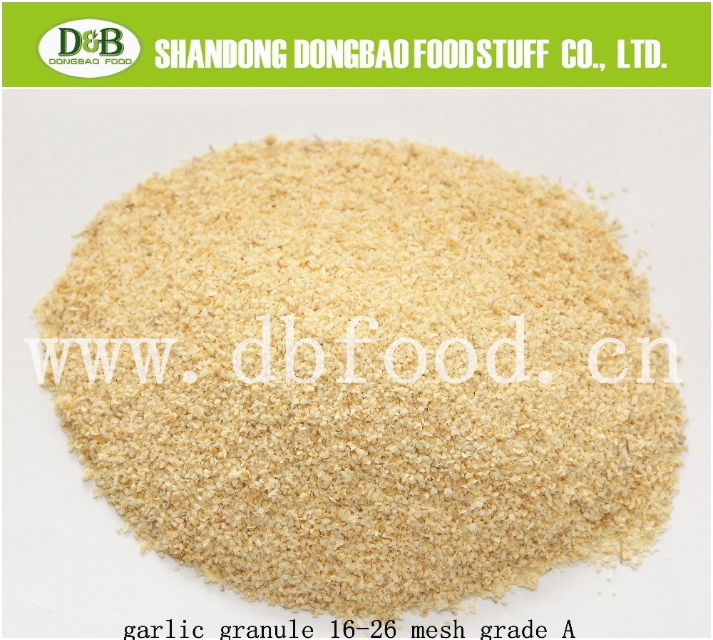 Air dehydrated garlic granules - Cheap dried garlic granules