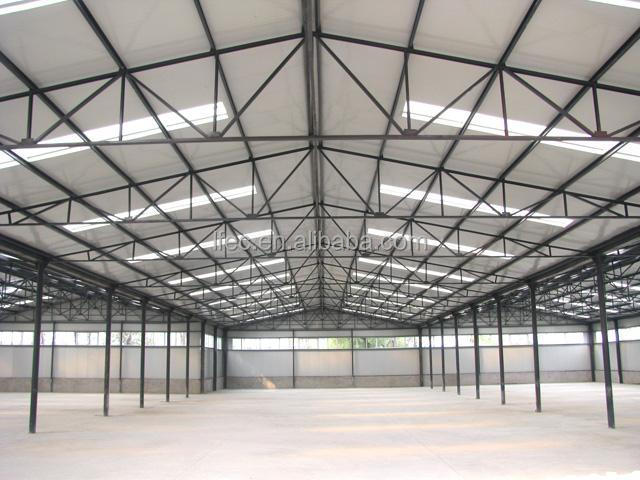 Eco-friendly prefab steel warehouse building design