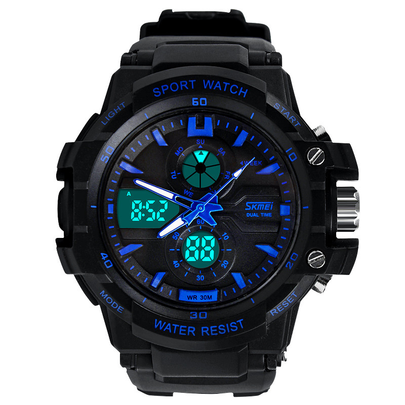 S SHOCK 2015 New SKMEI Luxury Brand Men Military Sports Watches Digital LED Quartz Wristwatches rubber strap relogio masculino