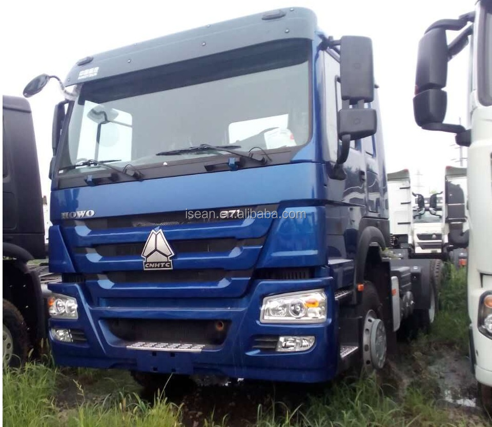 HOWO 6X4 tractor truck, 371HP engine power, one berth