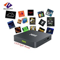 tv streaming box M9S TV Box with 4 High speed USB 2.0 android tv box dual tuner M9S