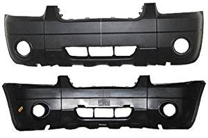 Crash Parts Plus Red Front Bumper Cover for 2005-2007 Ford Escape FO1000571