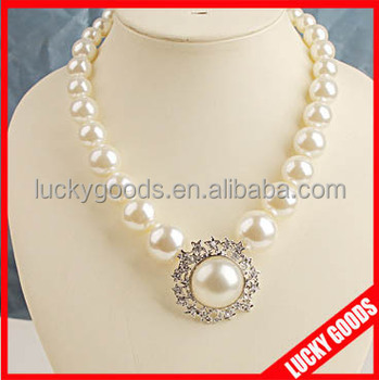 Hot Sale Women Fashion Simple Pearl Necklace Yiwu - Buy Simple Pearl ... 095f30a6b6