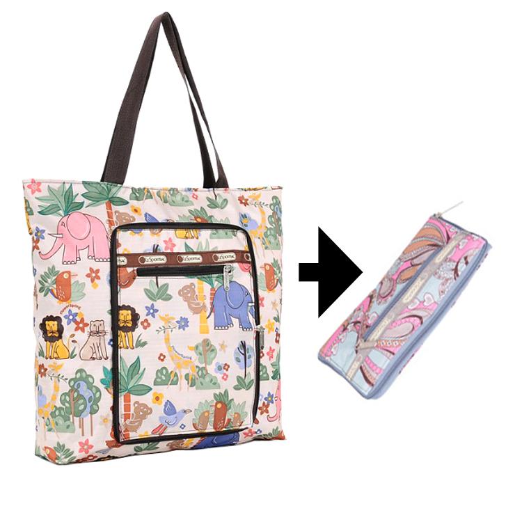 Nylon Waterproof Foldable Zipper Beach Tote Bag Handbag From Yiwu Product