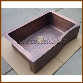 Single Bowl Copper Kitchen Sink Hot Sale Buy Copper Kitchen Sink Copper Sinks Single Bowl Kitchen Sink Product On Alibaba Com
