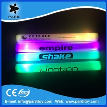 Rainbow color 7 functions led foam glow stick