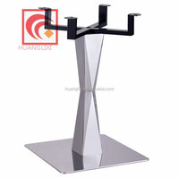 Hot pot rack, stainless steel electromagnetic stove desk leg, a stainless steel base plate