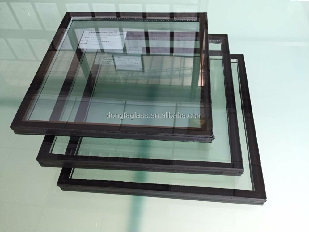 Ultra clear silk screened insulated glass for outside for Best insulated glass windows