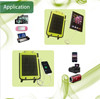 Top quality 5w solar chargeable bag for phones ,camera,digital devices