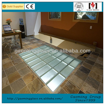 Customized Glass Floor Laminated Tempered