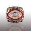 Promotion high quality custom mens sports rings world championship ring