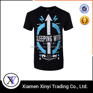 Promotional cheap Custom mens 1 dollar t shirts for large quantity