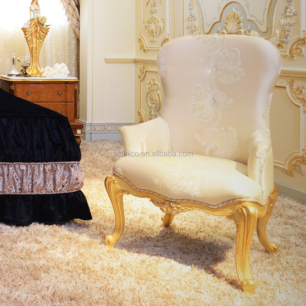 High Back Baroque Living Room U0026 Bedroom Queen Throne King Chair/ Victorian  Style Elegant White