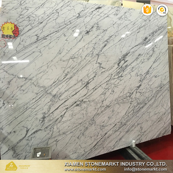 Own Factory Italy Carrara White Marble For Flooring Wall Tile And Countertop
