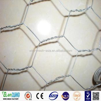 Hexagonal Wire Netting/ Hexagonal Chicken Wire Mesh/ Flore Network ...