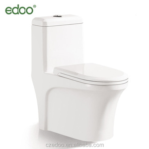 Hot sale! WC dual flush siphonic flush popular low price one piece toilet indian toilet