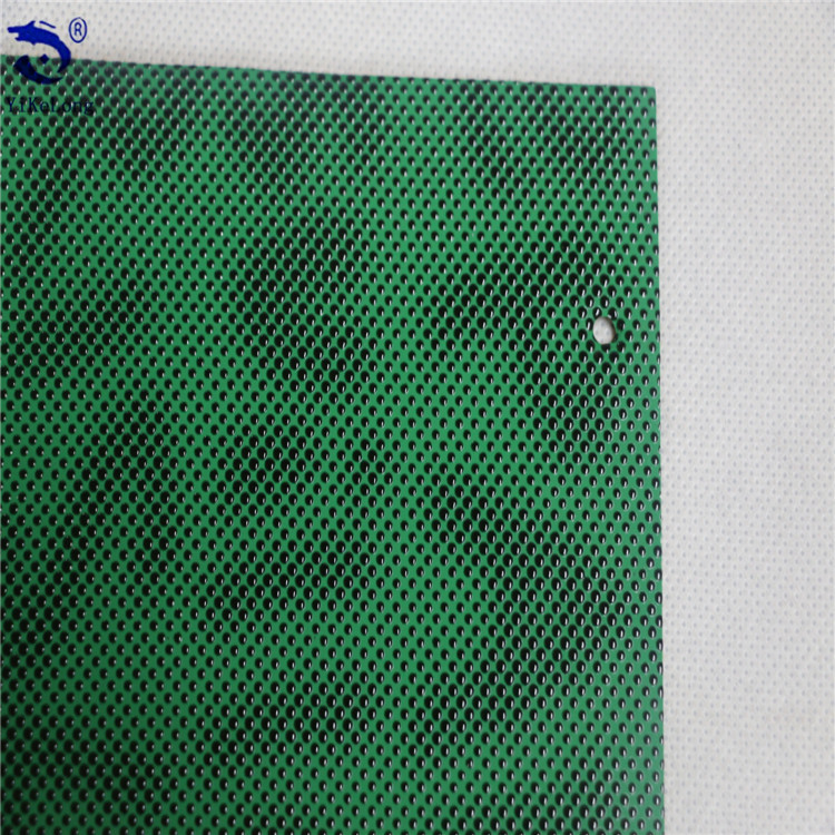 Watercolor embossed leather PVC leather for bags stock