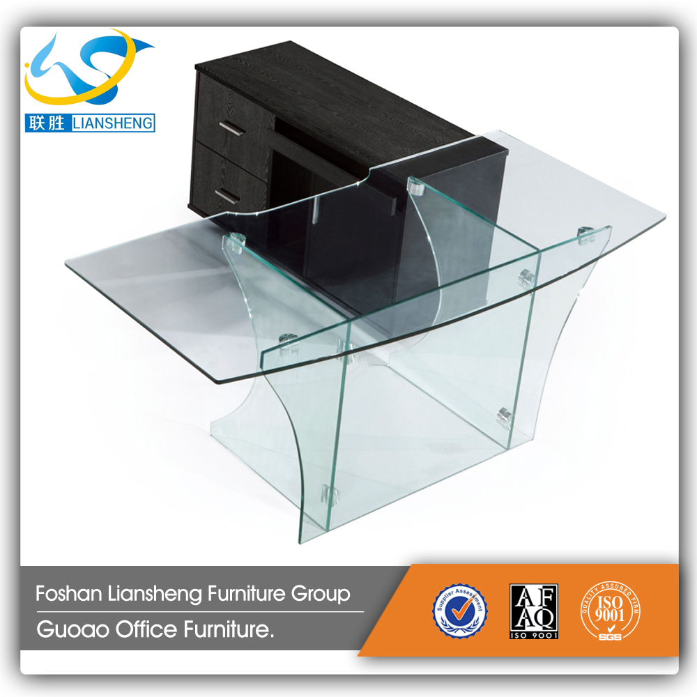 Tempered Glass fice Desk Tempered Glass fice Desk Suppliers
