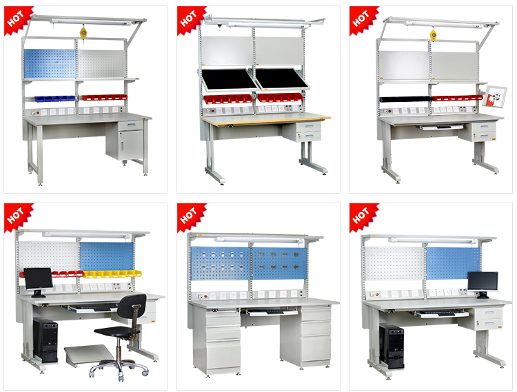mobile iphone and smartphone repair esd electric workbench desk table used in repairing lab