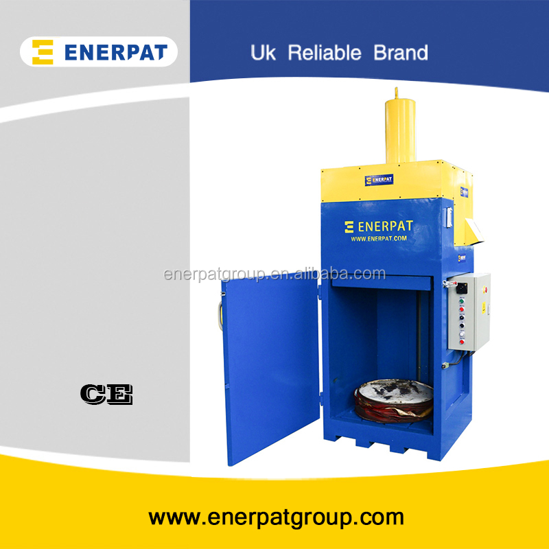 Hydraulic Oil Drum Crusher/Oil Filter Recycling Machine with CE in stock